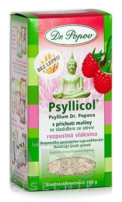 DR. POPOV PSYLLICOL MALINA rozpustná vláknina 1x100 g