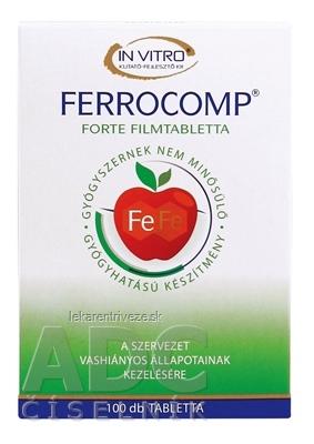FERROCOMP FORTE 10 mg tbl 1x100 ks