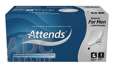 ATTENDS For Men 1 vložky inkontinenčné mužské, savosť 189 ml, 1x25 ks