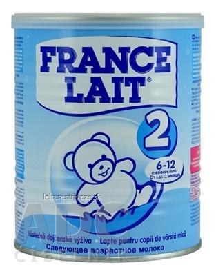 FRANCE LAIT 2 mliečna výživa (6-12 mesiacov) 1x400 g