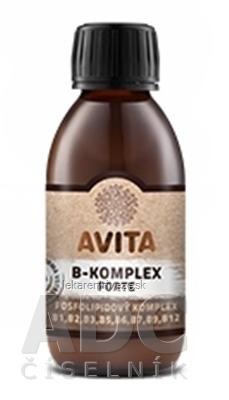 AVITA B-KOMPLEX FORTE fosfolipidový komplex 1x200 ml