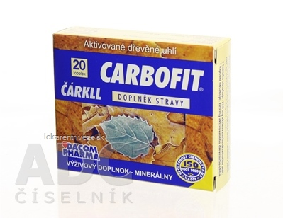 CARBOFIT Čárkll cps 1x20 ks