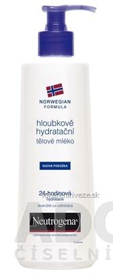 NEUTROGENA NR Hĺbkovo hydratačné telové mlieko 1x250 ml