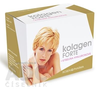 KOLAGÉN Forte + Kyselina Hyalurónová - RosenPharma (tbl 120 + tbl 60) 1x1 set
