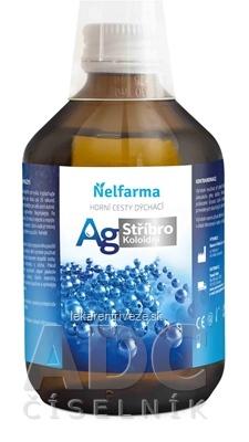 AG Koloidné Striebro - Nelfarma infekcie ústnej dutiny 1x300 ml