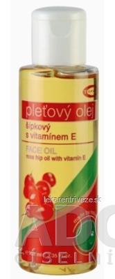 TOPVET pleťový olej ŠÍPKOVÝ s vitamínom E, 1x100 ml