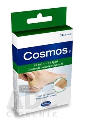 COSMOS Na šport (SPORT INOV) náplasť na rany flexibilná (6x10 cm) 1x5 ks