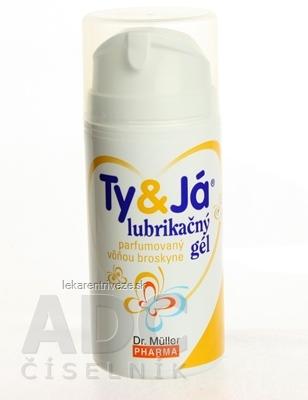 Dr. Müller TY&JÁ LUBRIKAČNÝ GÉL parfumovaný vôňou broskyne 1x100 ml
