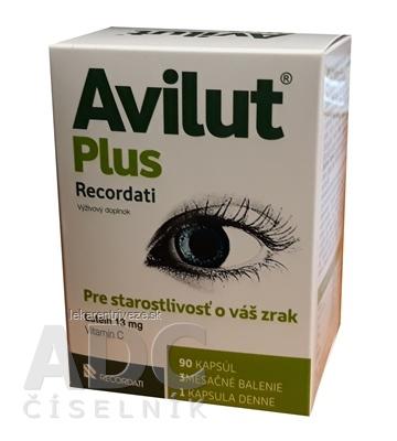 AVILUT Plus Recordati cps 1x90 ks