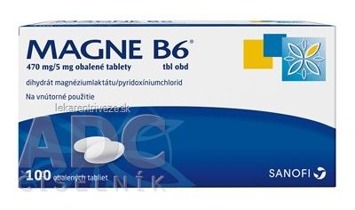 MAGNE-B6 tbl obd 470 mg/5 mg (blis.PVC/Al)1x100 ks