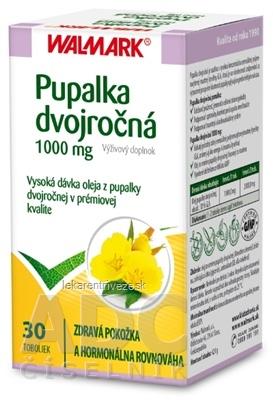 WALMARK Pupalka dvojročná 1000 mg cps 1x30 ks