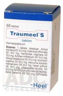 Traumeel S tablety tbl (liek.plast) 1x50 ks