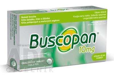 Buscopan tbl obd 10 mg (blis.) 1x20 ks