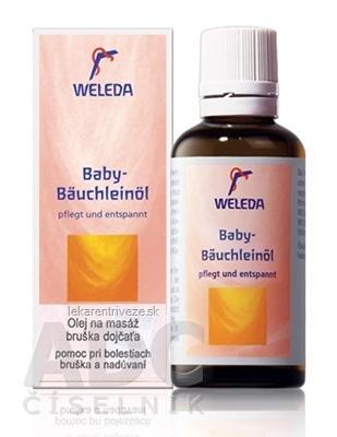 WELEDA Olej na masáž bruška dojčaťa (Baby-Bäuchleinöl) 1x50 ml