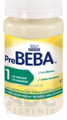 Nestlé Pre BEBA 1 (dietetická potravina pre dojčatá od narodenia) inov. 2016, 1x90 ml