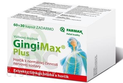 FARMAX GingiMax Plus cps 60+30 ks zadarmo (90 ks)