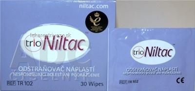 ConvaTec Niltac obrúsky stomické na odstraňovanie a čistenie zvyškov náplastí, 1x30 ks