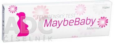 Maybe Baby tehotenský test midstream 2v1 tyčínka