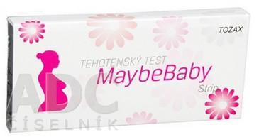 Maybe Baby tehotenský test strip 2v1 pasik