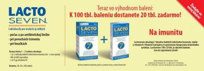 Lacto Seven tbl 1x100ks + 1x20 ks ZDARMA