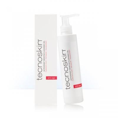 Tecnoskin - Odličovací gél na tvár a oči Antioxidant Sensitive Cleansing Gel