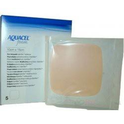 AQUACEL Ag Foam adhezívne penové krytie so striebrom, so silikónovým okrajom, 25x30 cm, 1x5 ks