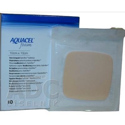 AQUACEL Foam neadhezívne penové krytie 20x20 cm, 1x5 ks