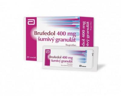 Brufen INSTANT 400 mg šumivý granulát (Brufedol) gra eff (vre.papier/PE/Al/PE) 1x20 ks