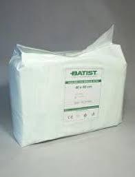 BATIST B-CELLIN Tampóny z vaty buničitej delené nesterilné, 8 vrstiev, 2 role, rozmery 40x50 mm (1230200310) 2x500 ks