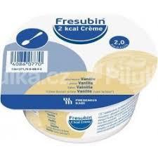 Fresubin 2 kcal Crème príchuť vanilka (2 kcal/g), sol 24x125 g