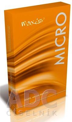 MAXIS MICRO STEHENNÁ PANČUCHA flebológia, veľkosť 7, (II.KT), normálna, pravá s upínaním v páse, svetlá, 1x1 ks