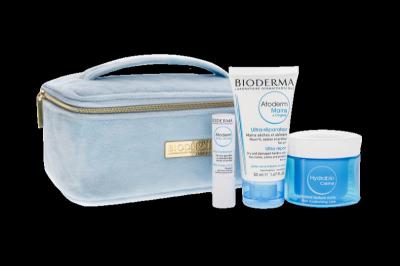 BIODERMA SET-Hydrabio krém 50ml + Atoderm krém na ruky 50ml + Atoderm tyčinka na pery