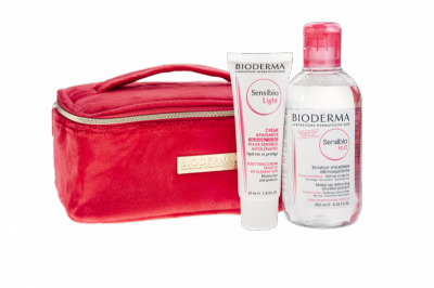 BIODERMA SET-Sensibio H2O 250ml+Sensibio Light krém na tvár 40ml