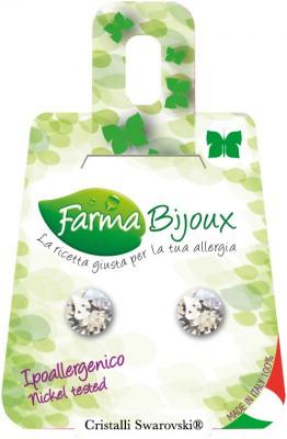 Farmabijoux hypoalergénne náušnice Xirius 7,15mm