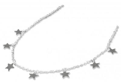 Farmabijoux hypoalergénny náhrdelník s hviezdami