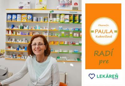 PharmDr. PAULA radí: HERPES - častý výskyt v období chrípok a u ľudí s oslabenou imunitou.