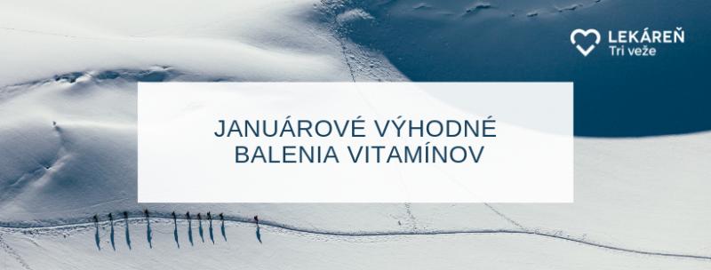 Januarova ponuka vitaminov