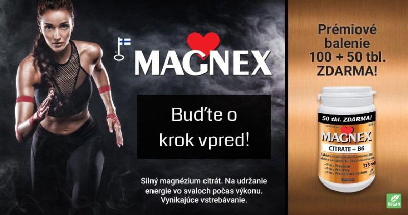 Magnex Citrat  v Lekarni Tri veze