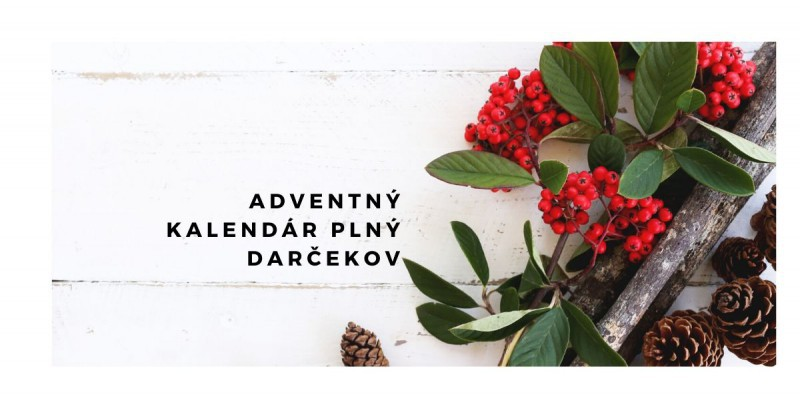 Adventny kalendar s Lekarnou Tri veze