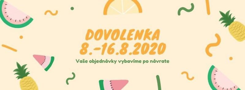 DOVOLENKA LETO 2020