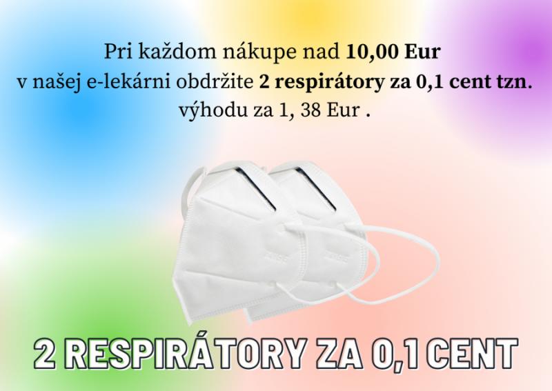 RESPIRATOR KN95 (FFP2) 2KS